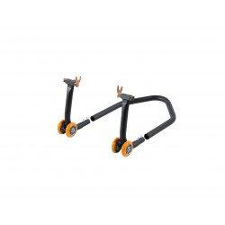 """Béquille arrière démontable LIGHTECH (incl. support """"L"""" caoutchouc) 4 roues"""