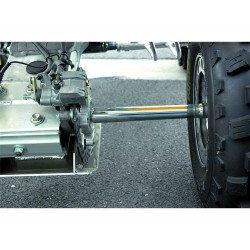 "Arbre de roue +2"" ART Honda TRX450"