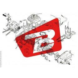 Goujons AFAM porte-couronne Ducati 6pcs