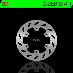 Disque de frein NG 003 rond fixe