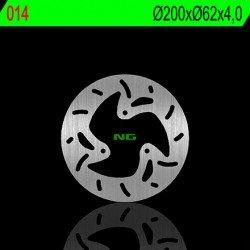 Disque de frein NG 014 rond fixe