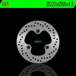 Disque de frein NG 041 rond fixe
