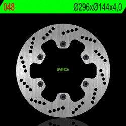 Disque de frein NG 048 rond fixe