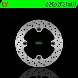 Disque de frein NG 051 rond fixe