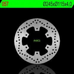 Disque de frein NG 057 rond fixe