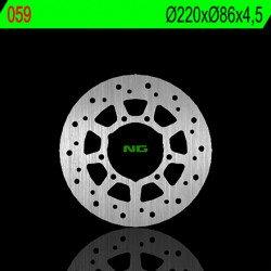 Disque de frein NG 059 rond fixe
