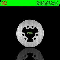 Disque de frein NG 062 rond fixe