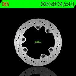 Disque de frein NG 065 rond fixe