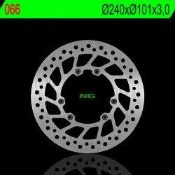 Disque de frein NG 066 rond fixe