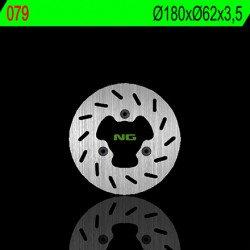 Disque de frein NG 079 rond fixe