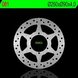 Disque de frein NG 081 rond fixe
