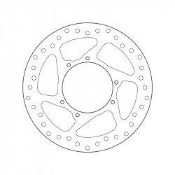 Disque de frein BREMBO Oro 68B407N3 rond fixe