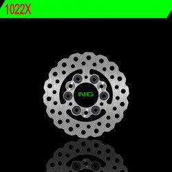 Disque de frein NG 1022X pétale fixe