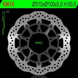 Disque de frein NG 1041X pétale flottant