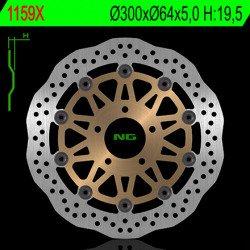 Disque de frein NG 1159X pétale flottant