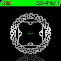 Disque de frein NG 1218X pétale fixe