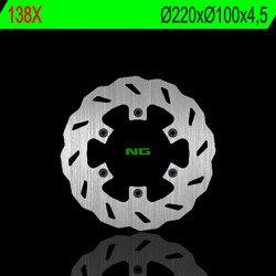 Disque de frein NG 138X pétale fixe