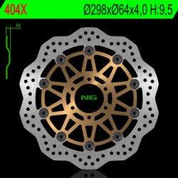 Disque de frein NG 404X pétale flottant