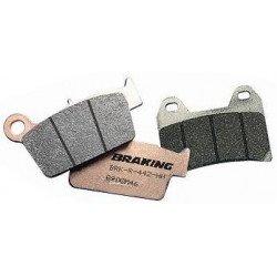 Plaquettes de frein BRAKING 929CM46 métal fritté
