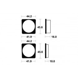 Plaquettes de frein TECNIUM MA22 organique