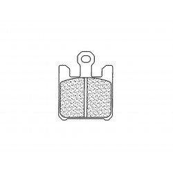 Plaquettes de frein CL BRAKES 1110XBK5 métal fritté
