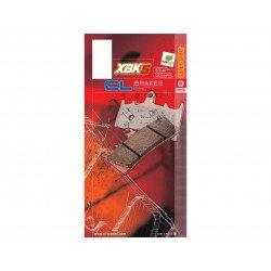 Plaquettes de frein CL BRAKES 1133XBK5 métal fritté