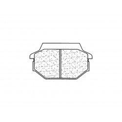 Plaquettes de frein CL BRAKES 1123ATV1 métal fritté