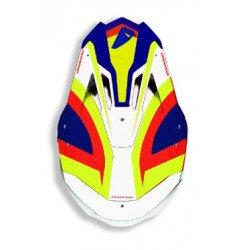Casque UFO Diamond blanc/bleu/jaune/rouge taille XXS