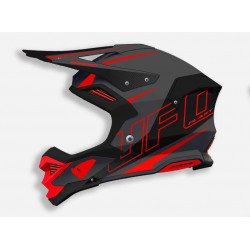 Casque UFO Diamond Matt Black/Red taille XXS