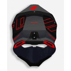 Casque UFO Diamond Matt Black/Red taille XL