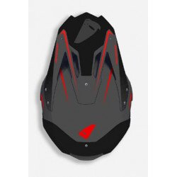 Casque UFO Diamond Matt Black/Red taille M