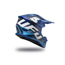 Casque UFO Intrepid Blue/Blue Sky taille S