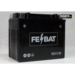 Batterie FE-BAT FBTX12-BS  (CBTX12-12 / YTX12-BS/YTX12BS/BTX12/UCX12)