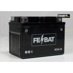 Batterie FE-BAT FBTX4L-BS (CBT4L-BS / CTX4L-BS/YTX4L-BS/YTX4LBS/BTX4L)