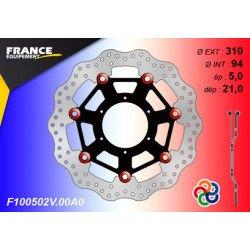 Disque de frein Gamme Essentiel FE.FL100502V / Oeillets Couleurs