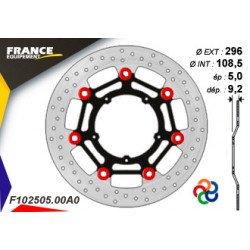 Disque de frein Gamme Essentiel FE.FL102505 / Oeillets Couleurs