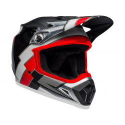 Casque BELL MX-9 Mips Twitch Replica Matte Black/Red/White taille S