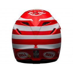 Casque BELL Moto-9 Mips Signia Matte Red/White taille L