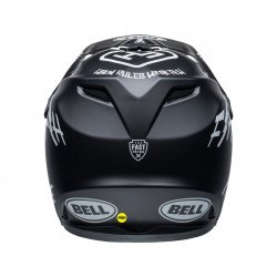 Casque BELL Moto-9 Youth Mips Fasthouse Matte Black/White taille YL/YXL
