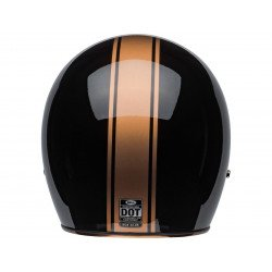 Casque BELL Custom 500 DLX Rally Gloss Black/Bronze taille M