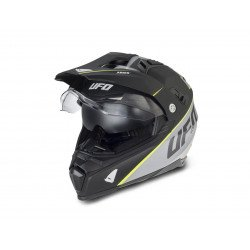Casque UFO Aries Matt Black/Grey taille M
