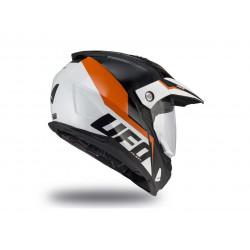 Casque UFO Aries noir/orange/blanc taille S