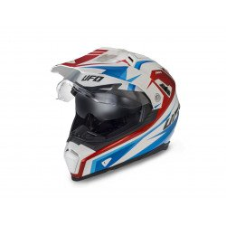 Casque UFO Aries blanc/rouge/bleu taille S
