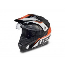 Casque UFO Aries noir/orange/blanc taille XL