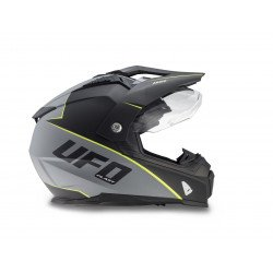 Casque UFO Aries Matt Black/Grey taille S
