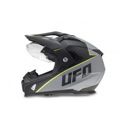 Casque UFO Aries Matt Black/Grey taille XL