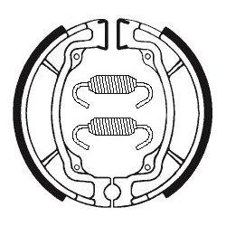 Machoires de frein TECNIUM BA015 organique
