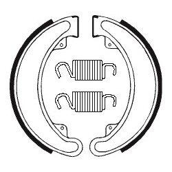 Machoires de frein TECNIUM BA024 organique
