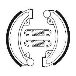 Machoires de frein TECNIUM BA030 organique