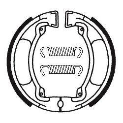Machoires de frein TECNIUM BA032 organique
